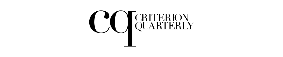 Criterion Quarterly